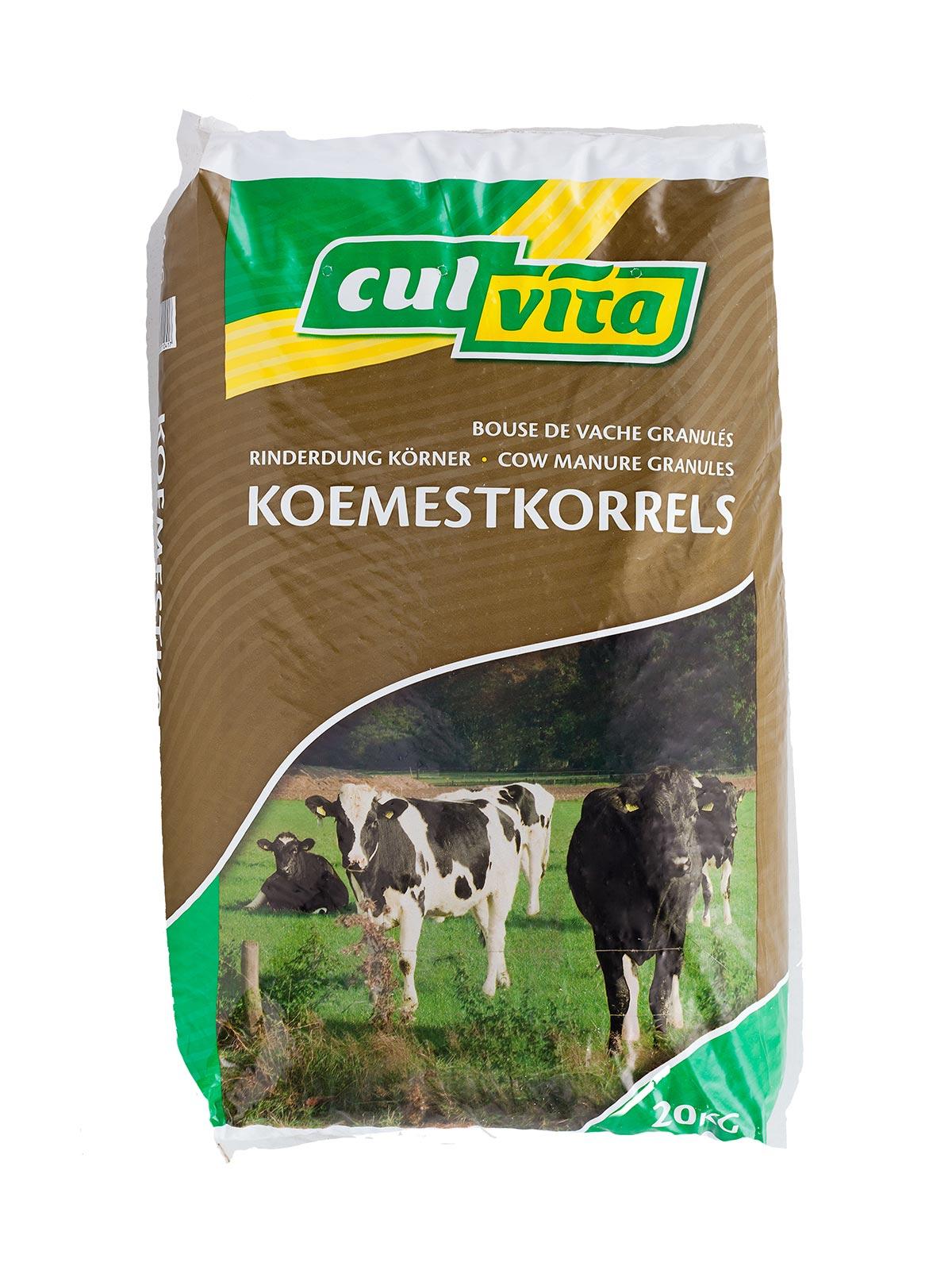 Culvita Organische Koemestkorrels | Culvita.nl