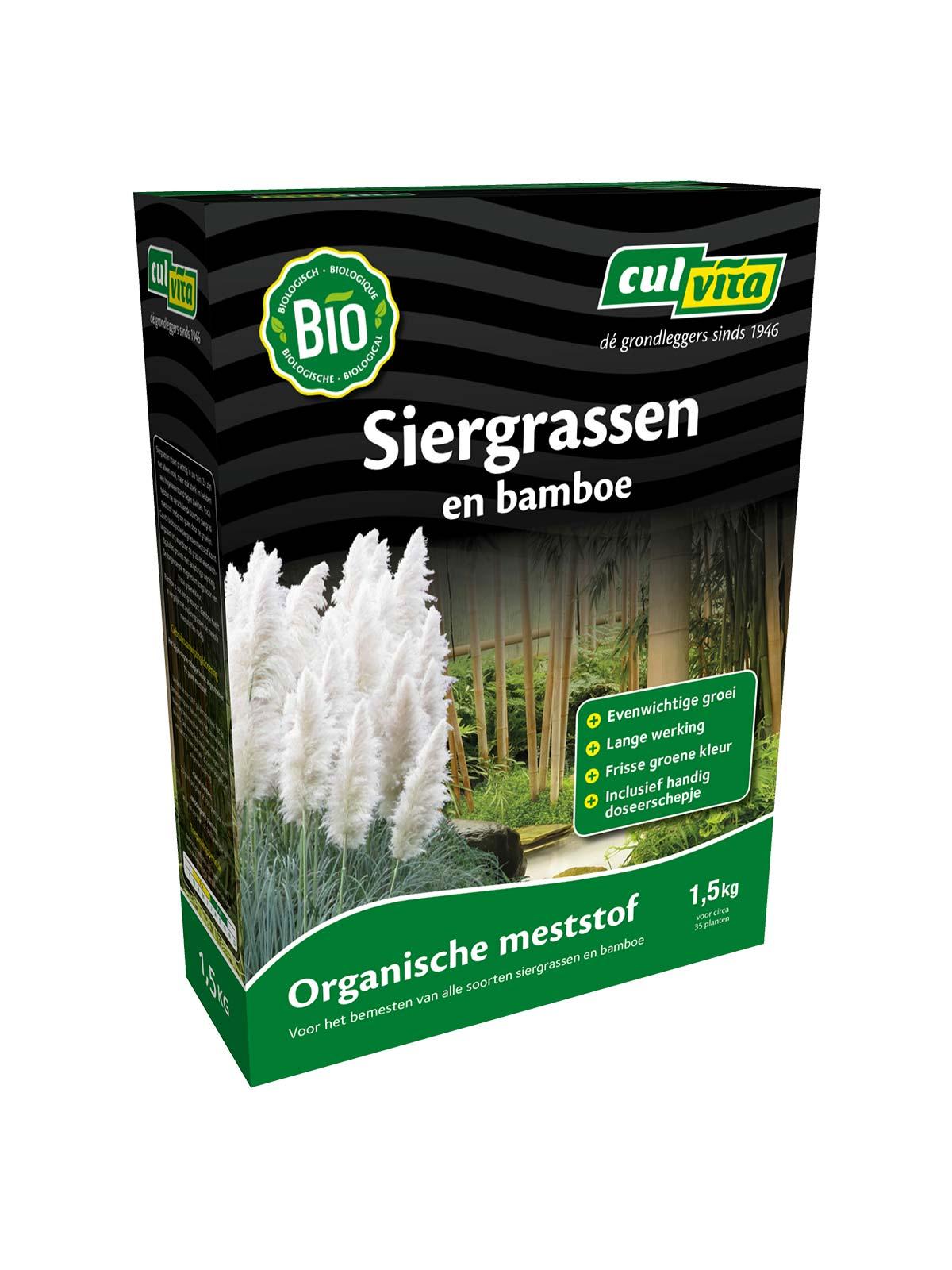 Culvita Organische Siergrassen En Bamboe Meststof
