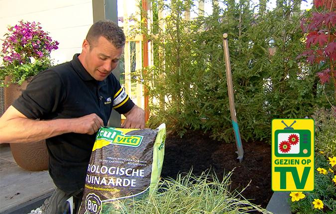De Grote Tuinverbouwing Met Biologische Tuinaarde!